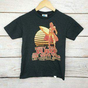 Surfer Darth Vader Funny Star Wars T-Shirt